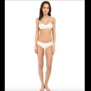 NWT Kate Spade Floral Bikini Top + Bottom Swim set